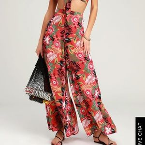 Lulus Passport to Paradise Wide Leg Pants